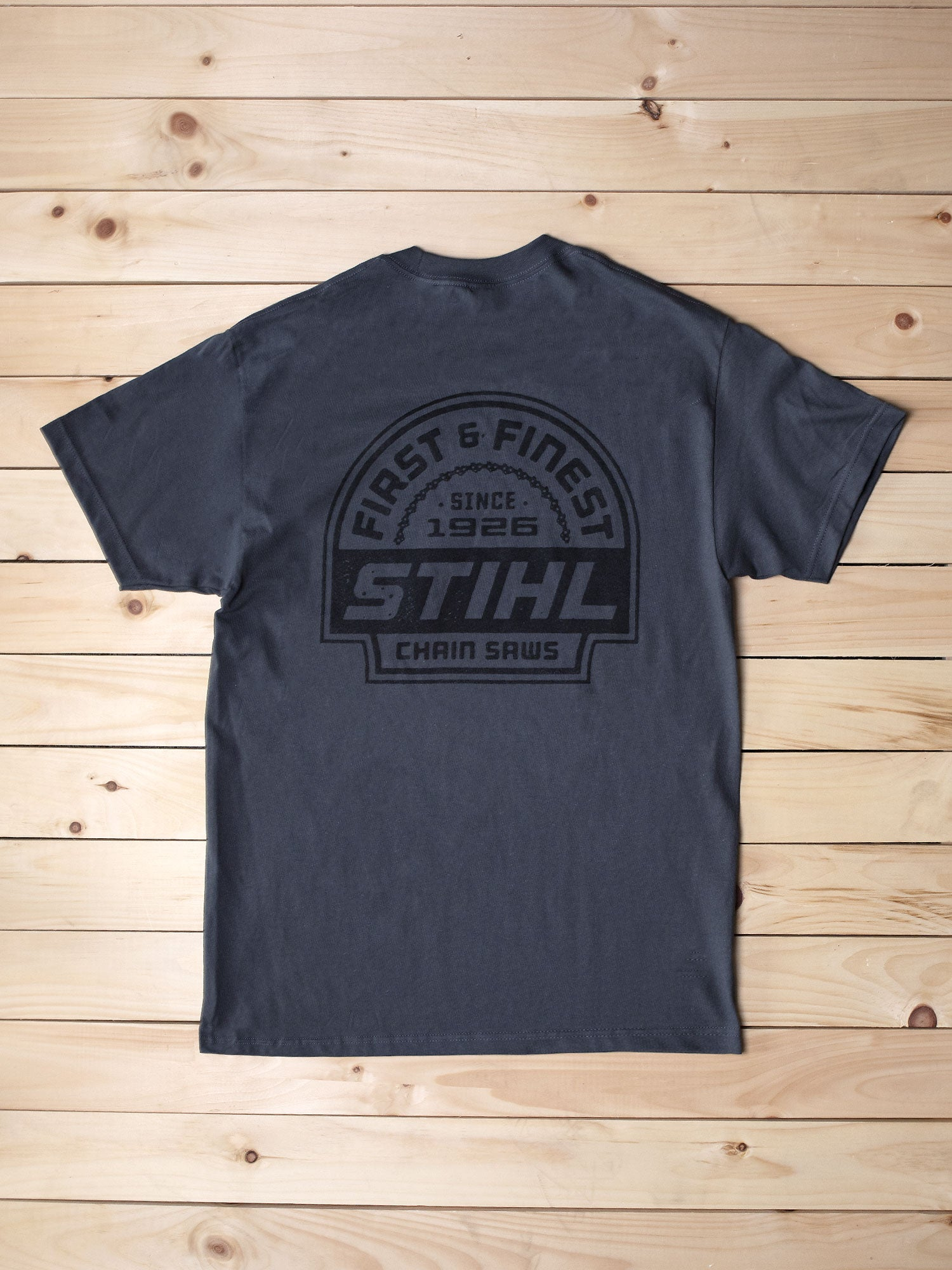 STIHL Charcoal First and Finest Shirt - Wholesale