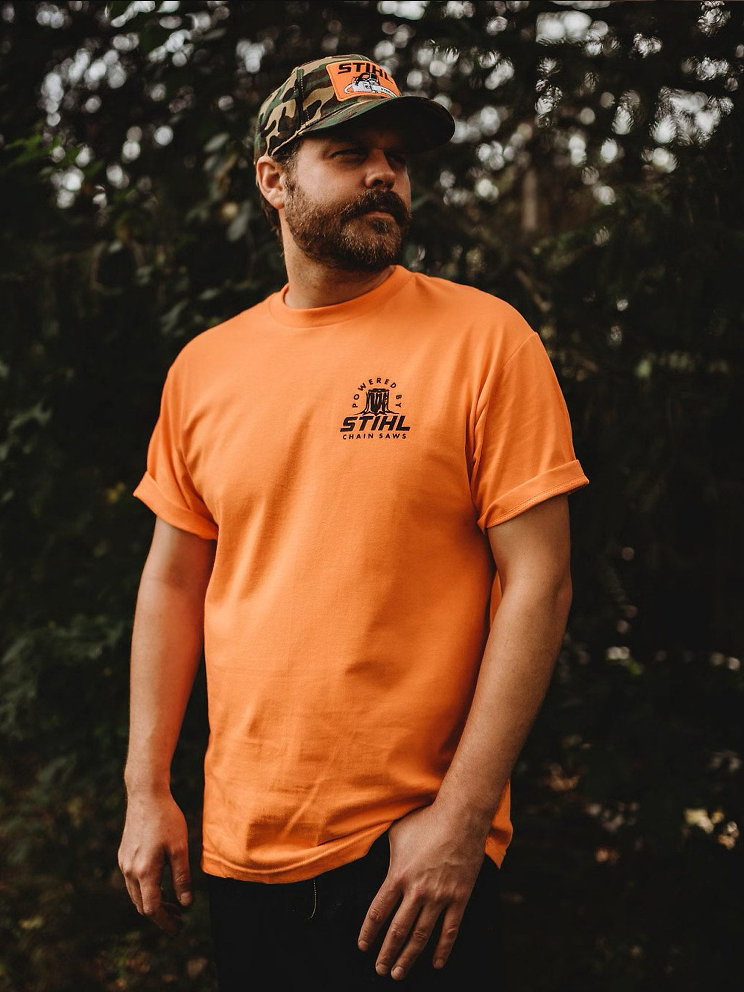POWERED BY STIHL Shirt - wholesale