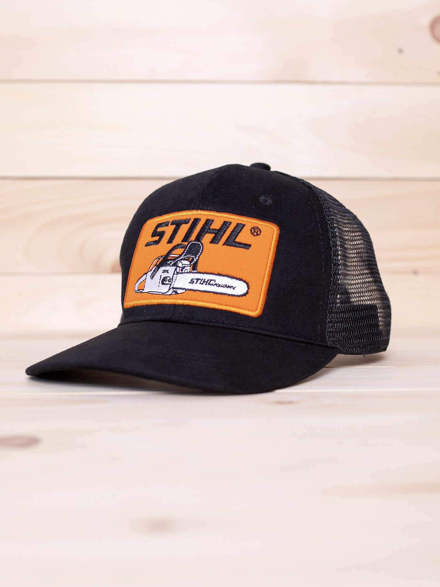 02747103882ee STIHL Mesh Back Patch Hat – STIHL OUTFITTERS