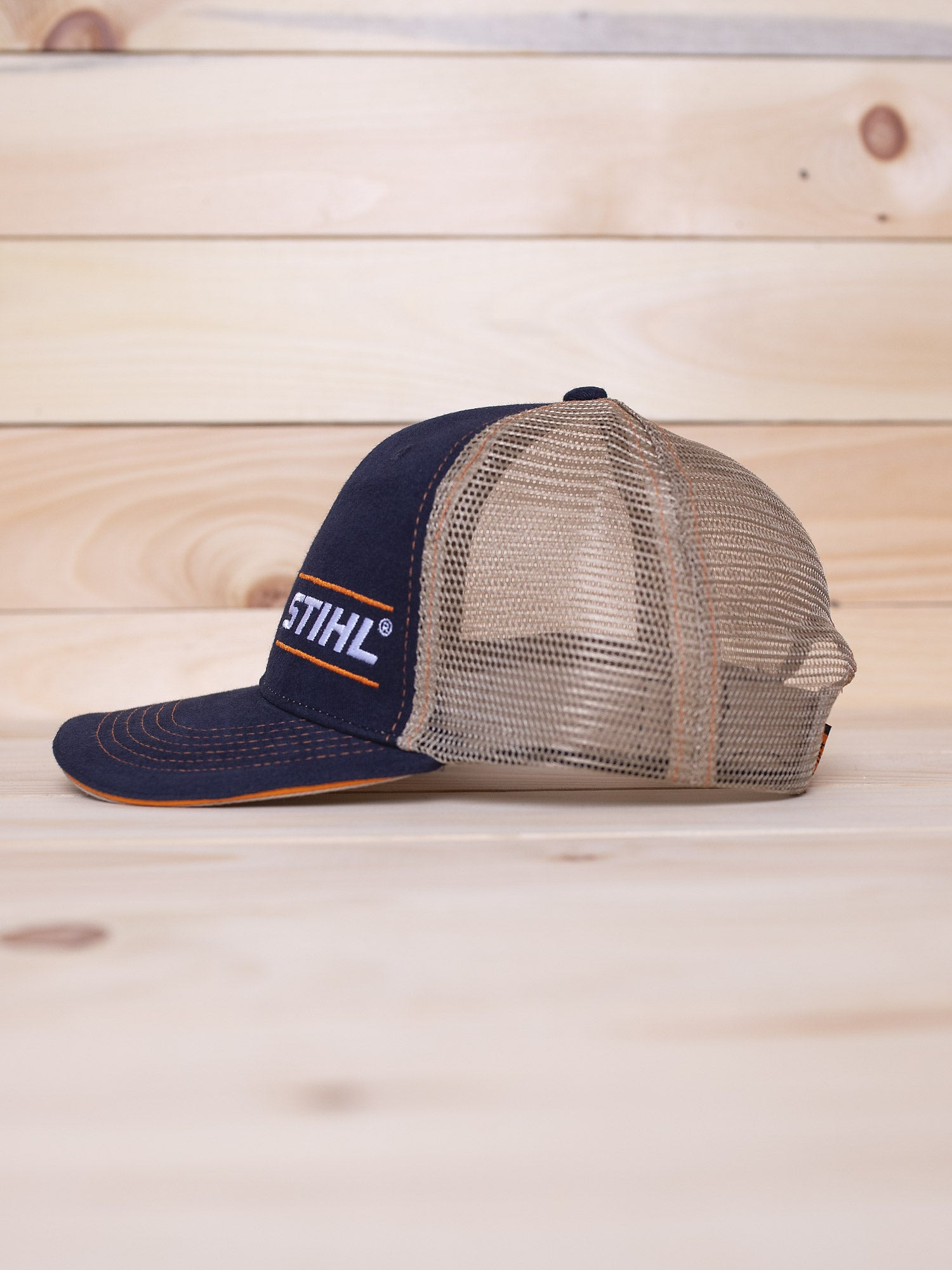 STIHL Navy Mesh Back Hat