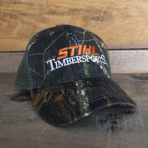 CASQUETTE STIHL TIMBERSPORTS CAMOUFLAGE