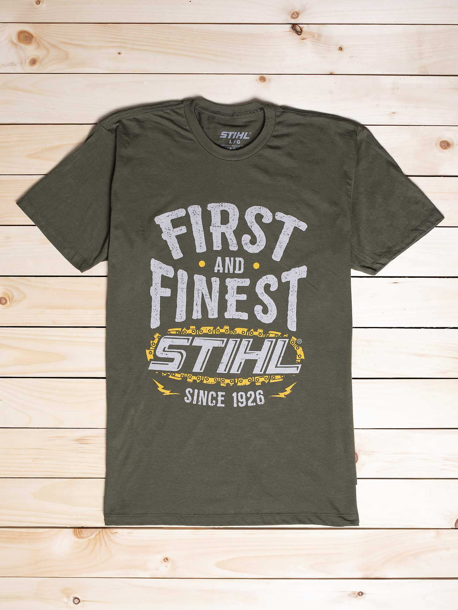 STIHL FIRST AND FINEST CHAIN SHIRT