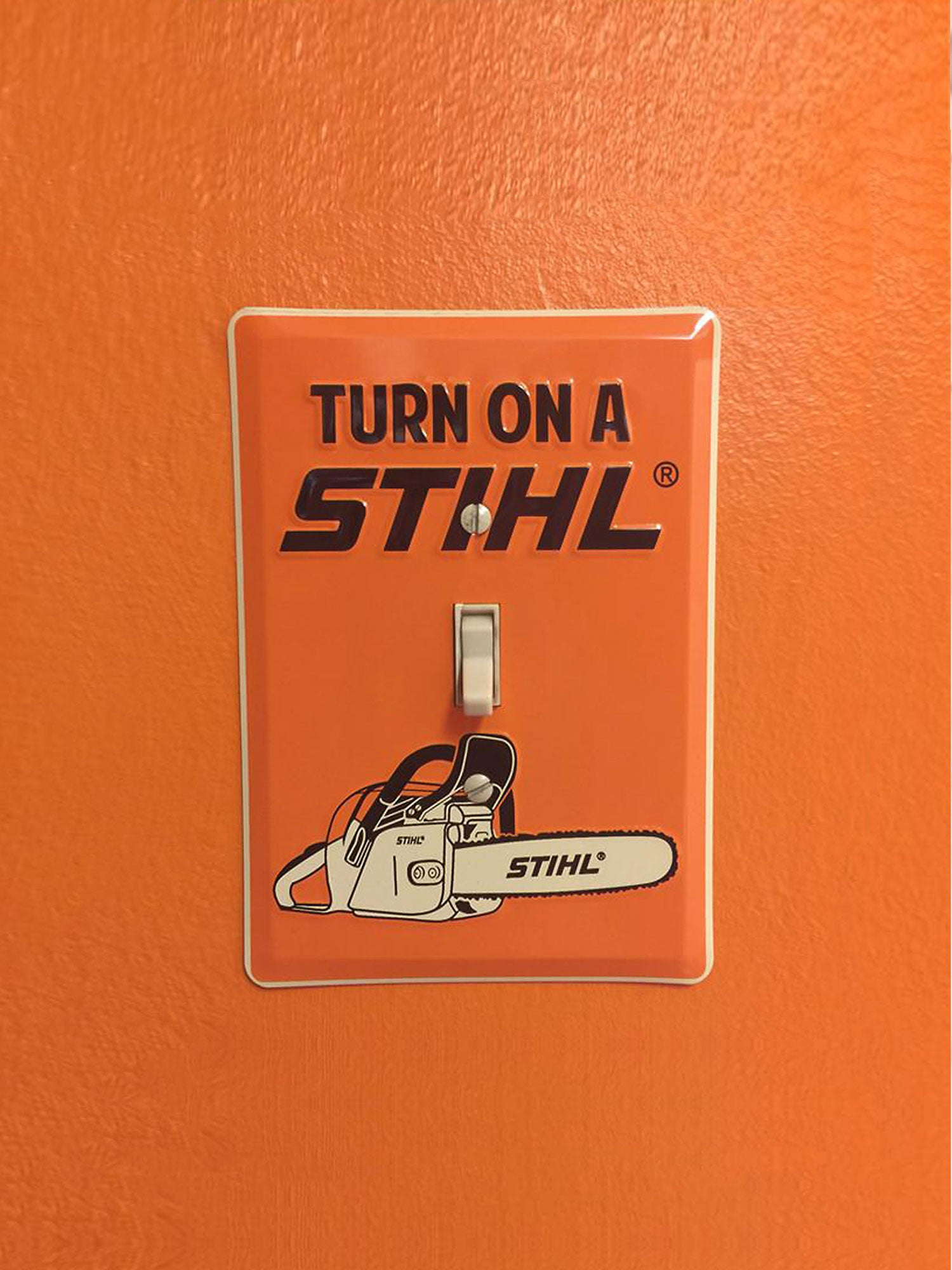 STIHL Light Switch Plate