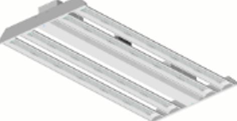 Large LED Linear High Bay 120-277VAC  200/320W