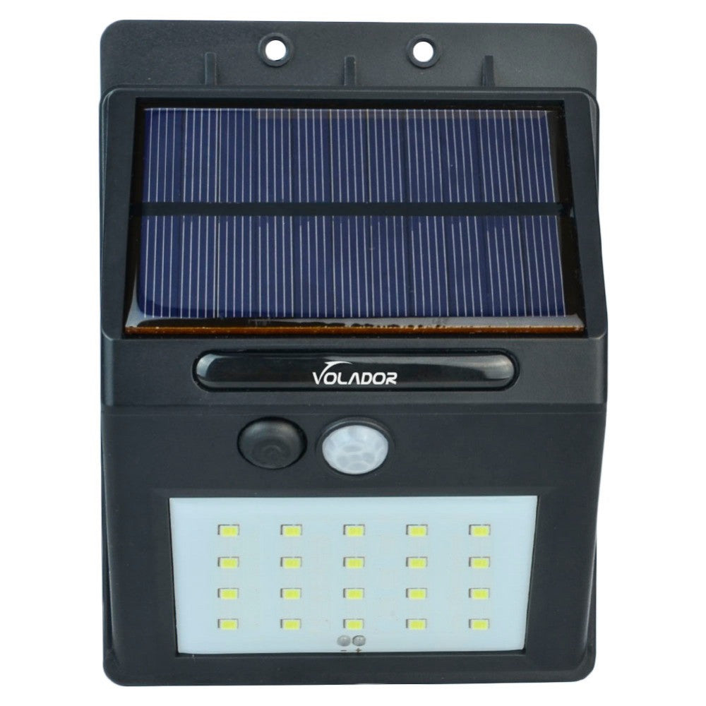 ... Volador Motion Activated Outdoor Solar Wall Lamp (qty 4) ...