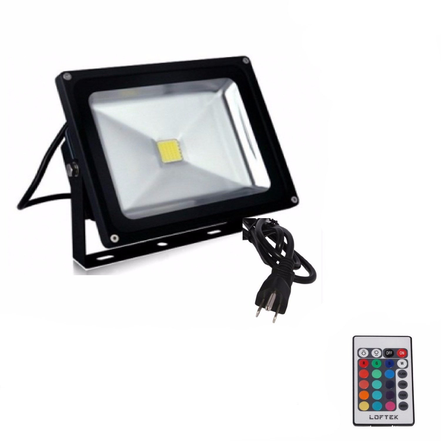 rgb led floodlight spotlight high power online lighting. Black Bedroom Furniture Sets. Home Design Ideas