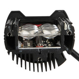 "Auxmart 2x 7"" 60W LED Fog Lamp for Trailer, Off Road, truck, camper, 4x4, 4WD, SUV, or ATV"