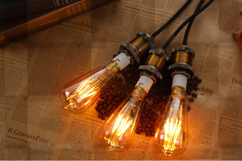 B22 Dimmable LED Edison Filament Light Bulb