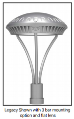 Legacy Post Top Architectural LED - Online Lighting - 1