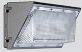 LED Wallpack with no cutoff and high lumen outputs