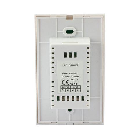 12-24VDC Glass Touch Panel Dimmer for LED Strip Light Lamp