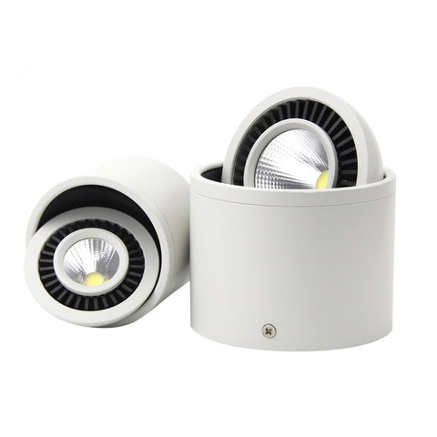 Bright Dimmable LED Downlight - Surface Mounted