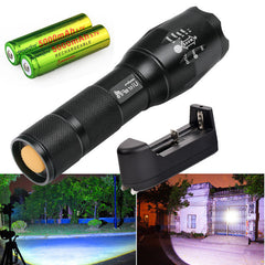 Mini E17 Tactical Flashlight LED Light ideal for Hunting - Online Lighting - 1