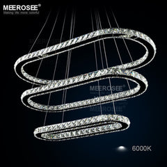 Modern LED Crystal Chandelier - Online Lighting - 1