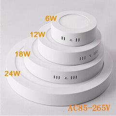 Ultra Thin Surface mount LED round panel downlight - Online Lighting - 1