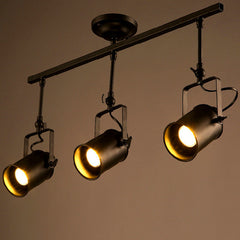 Retro / Industrial Loft Vintage LED Track Light - Online Lighting - 1