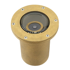 (SPJ-CBWL-16) 2/3/6W LED ADJ. Cast Brass Well Light - Online Lighting