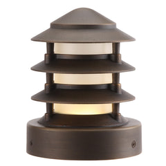 (SPJ-FB-PH4) 2W LED MINI Beacon Matte Bronze - Online Lighting