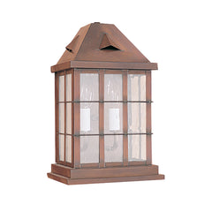 (SPJ31-04A/B) Half Flush Mount Lantern - Online Lighting
