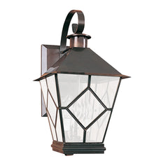 "(SPJ32-01A/B) Scroll Mount Lantern 17""/20"" - Online Lighting"