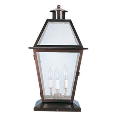 (SPJ35-04A/B/C) Column Mount Lantern 12V/120V - Online Lighting
