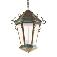 "(SPJ46-11A/B) Pendant Mount Lantern 12""/17"" - Online Lighting"