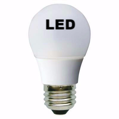 40W A15 Medium Screw Base(E26)  Incandescent or LED