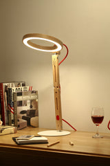 Wood Desk LED Lamps - Online Lighting - 1