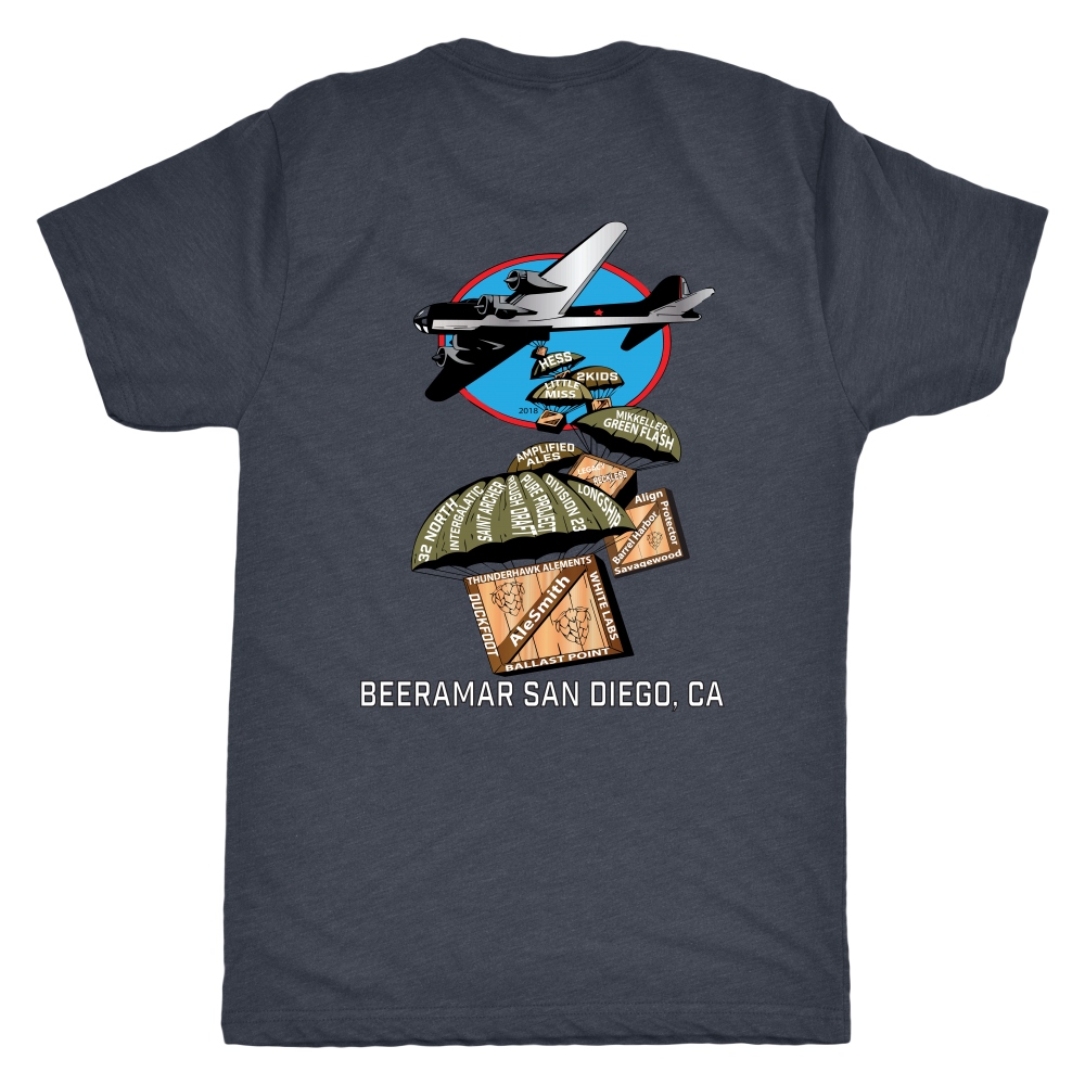 Beeramar Mens and Womens Tee 2018