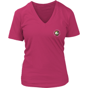 BEERAMAR Hoppified Womens V-Neck Tee