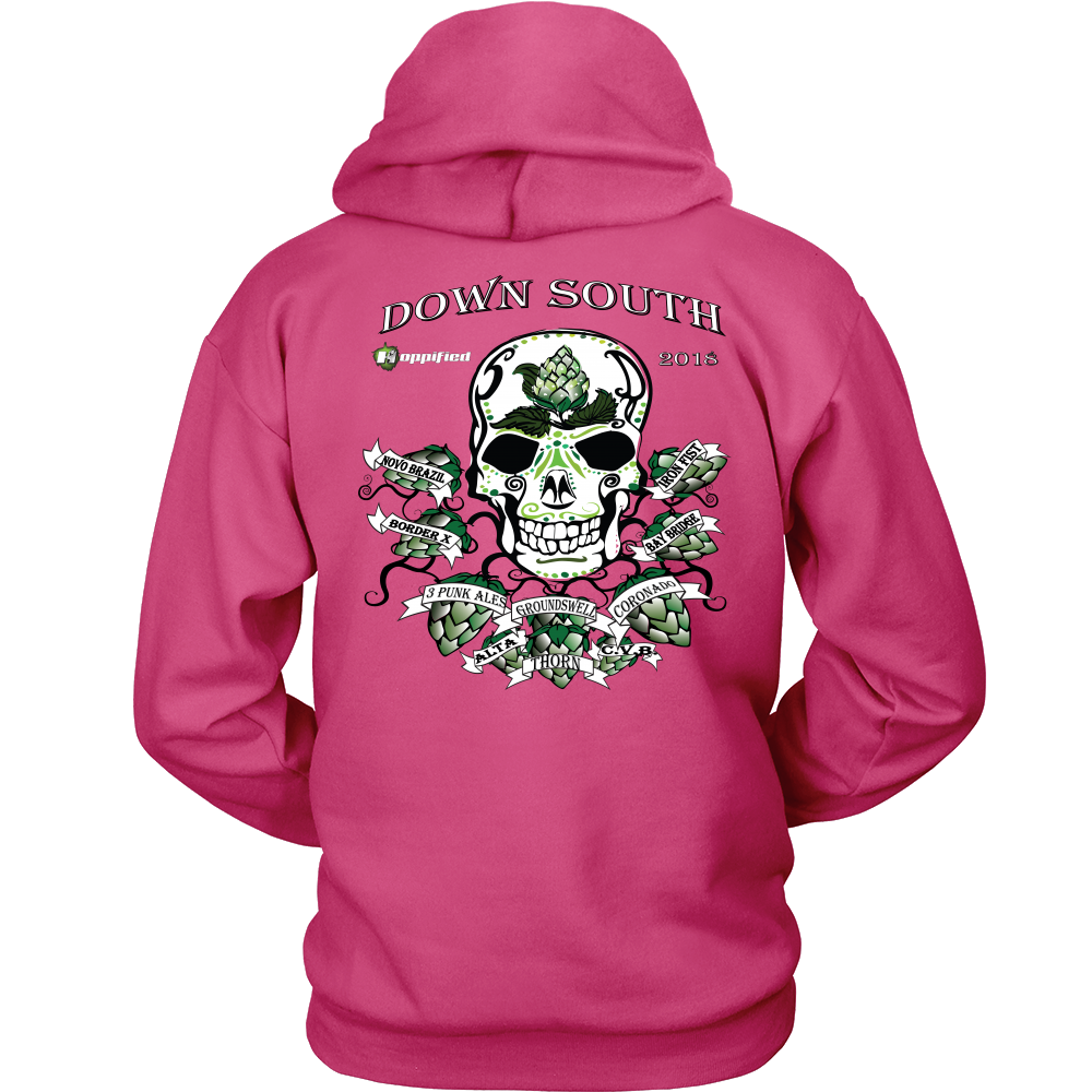 Down South Hoppified Unisex Hoodies