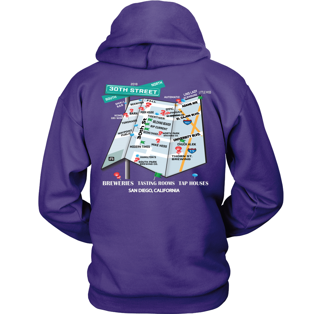 30th St. Hoppified Unisex Hoodie