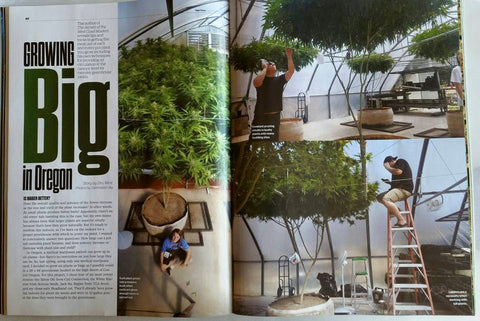 HIGH TIMES Magazine August 2015 - Growing Big in Oregon by Dru West