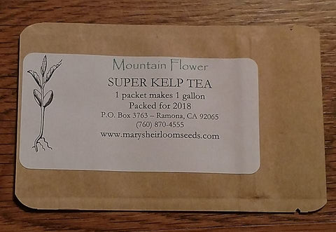 Mountain Flower - Super Kelp