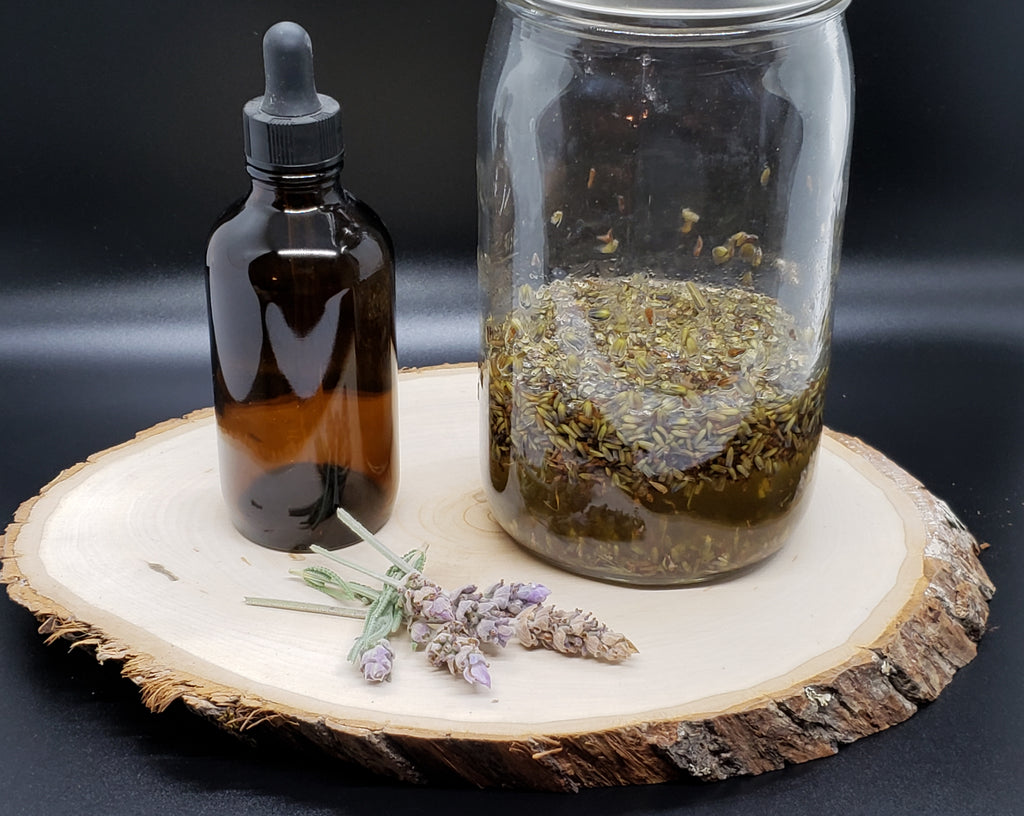 Lavender Flower Oil Kit