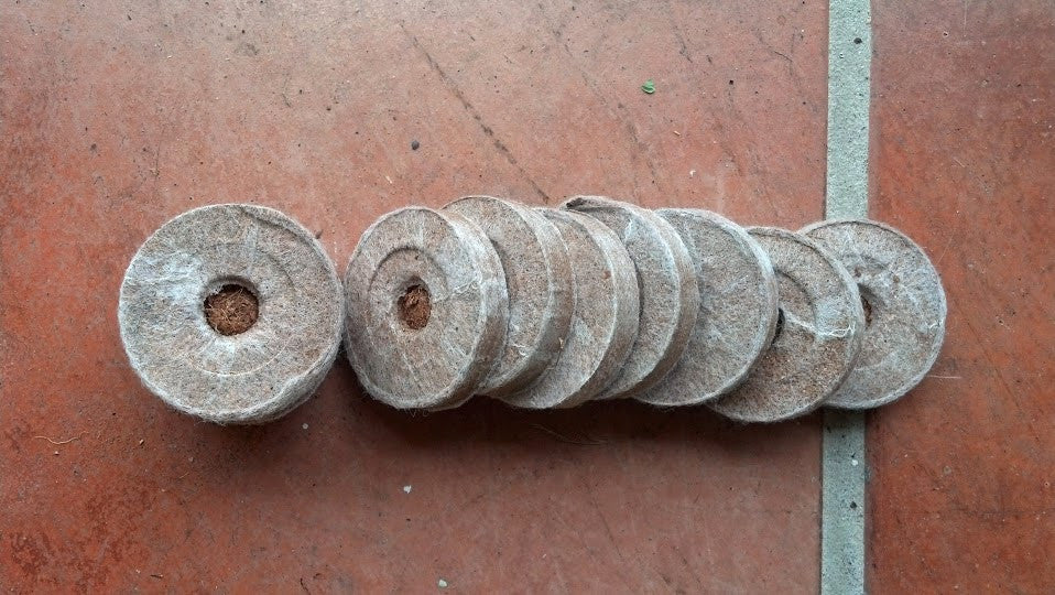 Coconut Coir Pellets-100