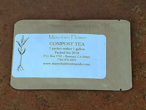 Mountain Flower - Compost Tea Mix