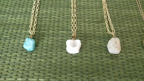 "Sparkling Stone 36"" Necklace"