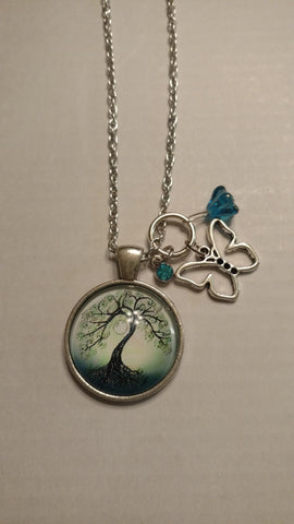 "Tree of Life Handmade 20"" Necklace"