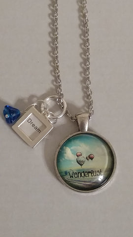 "Wanderlust Handmade 22"" Necklace"
