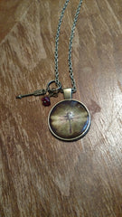 "Dragonfly-Vintage Steampunk Handmade 20"" Necklace"