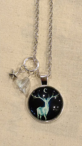 Stag Moon Handmade Necklace