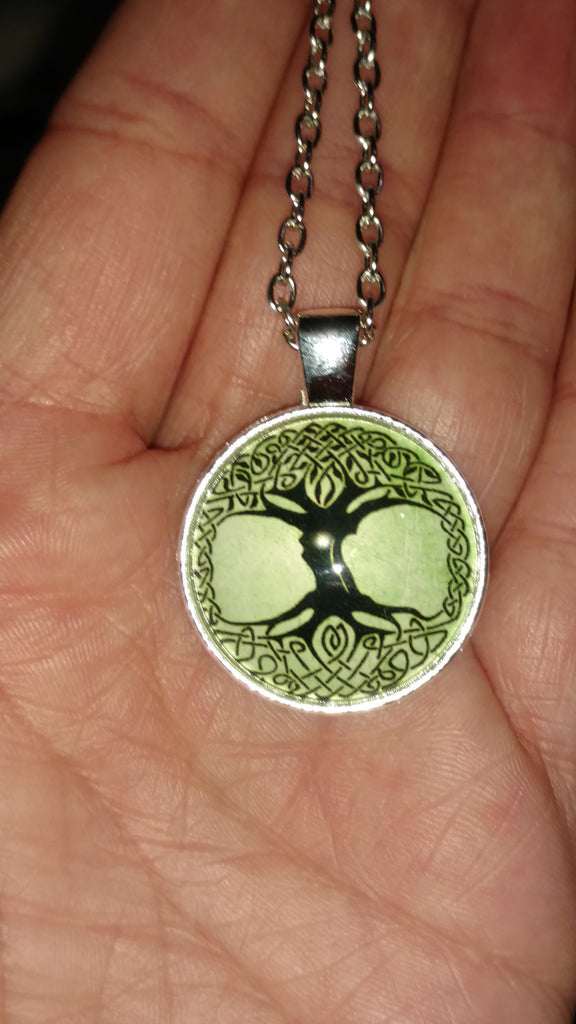 "Celtic Tree of Life Handmade 18"" Necklace"
