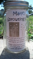 Mary's Sprouting Kit