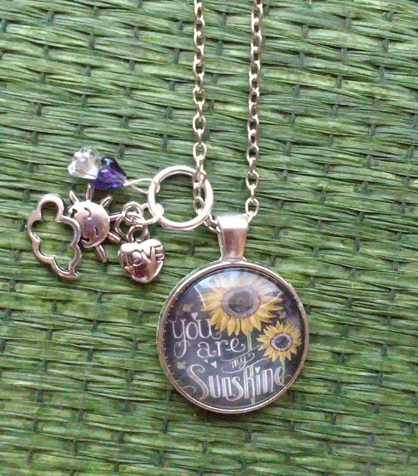 """You are my Sunshine"" Handmade 20"" Necklace"
