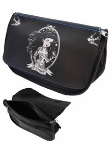 Tattooed Ariel Makeup Bag