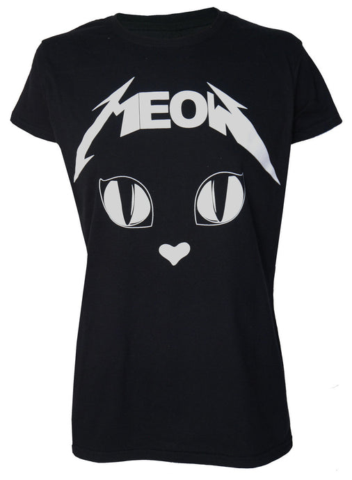 Metal Meow Slim Fit Tshirt