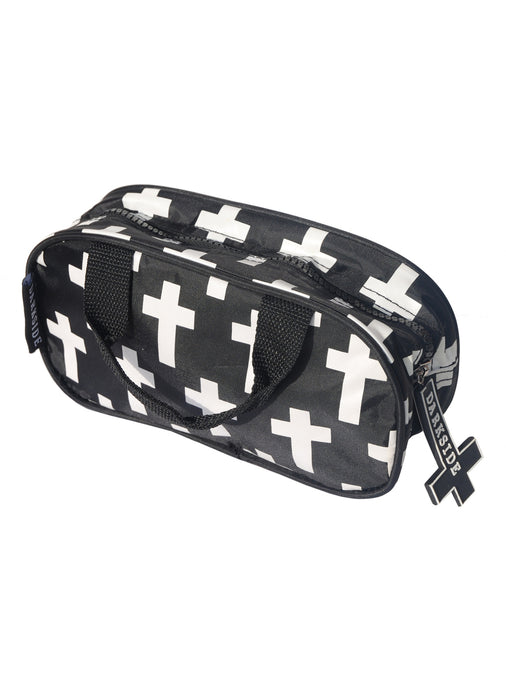 Inverted Cross Makeup Bag