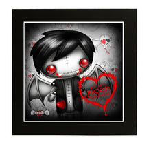 "Victor Vampling ""Blood Donor"" Mounted Print"