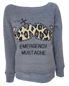 Emergency Moustache Sweatshirt